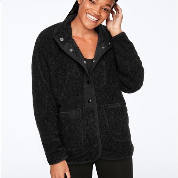 PINK Black Jacket
